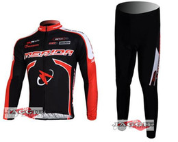 Wholesale Winter Bike Clothing - Winter clothes! 2011-2 MERIDA Winter long sleeve cycling jerseys+pants bike bicycle thermal fleeced wear set+Plush fabric!
