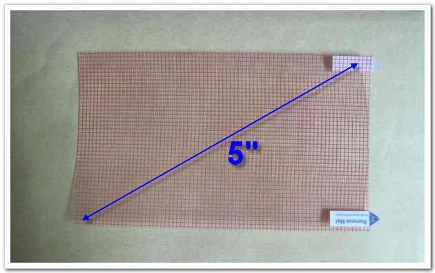 50 unids Universal Protector de pantalla LCD 5 pulgadas Tamaño 115x65mm para teléfono móvil GPS MP4 Cámara PDA Protector de película de protección