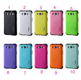 Wholesale Galaxy S3 Layer - hybrid PC with TPU 2 in1 layer Armor heavy duty case cover for Galaxy S3 SIII i9300 case with retail packing