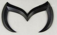 ingrosso auto decalcomania nera-20 pezzi / lottp 3D Nero / argento Bat Batman Metal Car Vehicle Emblem Badge Sticker Decal per Mazda 3 5 6
