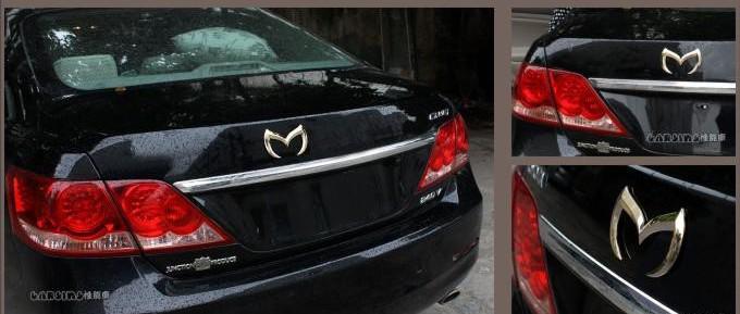 20 adet / grup 3D Siyah / gümüş Yarasa Batman Metal Araba Araç Amblem Badge Sticker Çıkartması Mazda 3 5 için 6