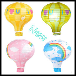 Wholesale Paper Lanterns 25cm - Lantern Lights New 2013 25cm Outdoor Printings Hanging Lanterns for Childred Hot Paper Lanterns Wedding Party Decorations Chinese Whloesale