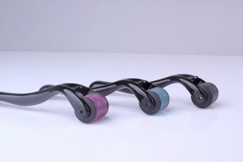 DRS 540 Micro Agujas Derma Roller,el Cuidado de la Piel del Rodillo de la Terapia de Microneedle de Titanio Dermaroller Sistema de DHL /lote