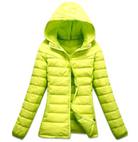 Wholesale Down Feather Jacket - 2014 special offer womens down coats in winter brand jackets fashion feather hoody jackets down jackets down-jackets for lady warm coats