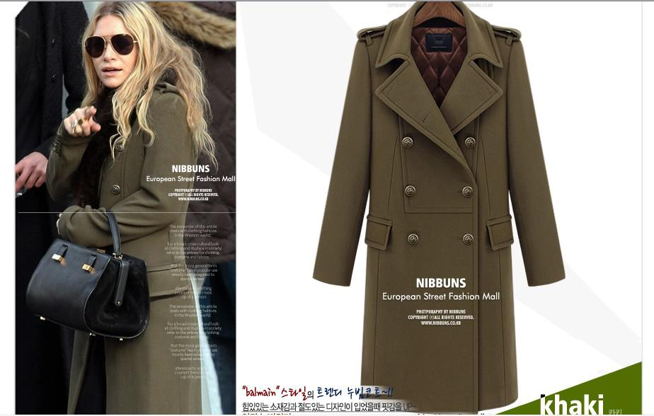 Long Winter Wool Coats For Women | Fashion Women's Coat 2017