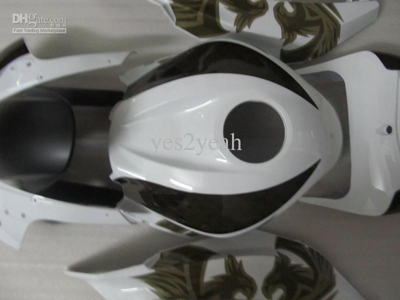 Kit de corpo de carenagem de injeção para HONDA CBR600RR 07 08 CBR 600 RR F5 CBR 600RR 007 2008 café de fênix Carenagem de carroçaria