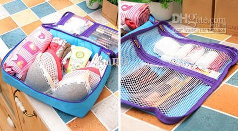 HOT Nouveau sac de voyage Sac pochette organisateur en nylon Sacs / ensemble