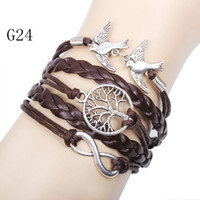 infinity bracelet with charms