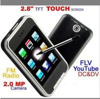 Wholesale 16gb Mp3 Mp4 Touch Screen - Wholesale - MP3 Player 16GB MP4 Players 2.8 Inch Screen 8GB PMP Media Vedio Player Fm Radio DV Camera 5GC