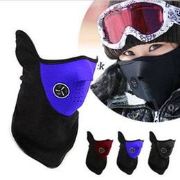 Wholesale Cheap Winter Face Masks - New Cheap Neoprene Neck Warm Half Face Mask Winter Veil For Sport Bike Bicycle Motorcycle Ski Snowboard new top sale Free Shipping