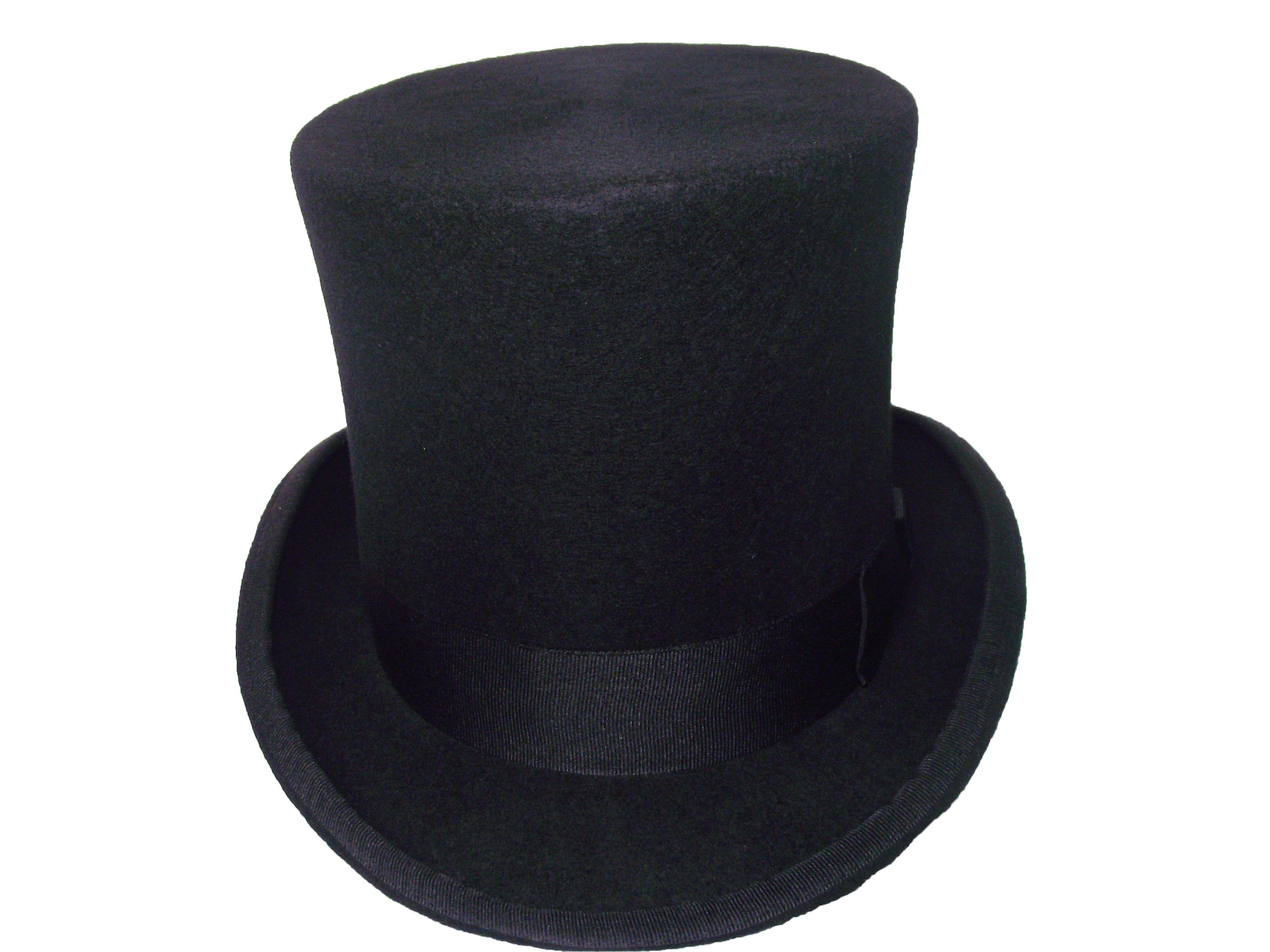 Compre Sombrero De Copa De Alta Calidad Negro Con 15cm Para Hombres Y Damas  Y Niños 6edac462c1b