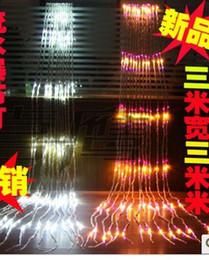 2019 água do macaco Decorativa LED das luzes de Natal corda de luzes do feriado janela KTV macaco 336 LED3M lâmpada água * 3m desconto água do macaco