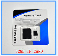 Wholesale Dual Sdhc - DHL EMS New 32GB SD Card TF Memory Card Class 10 Flash SDHC Cards Adapter Free Retail Package xperia sl,xperia tipo dual, xperia tipo, xpe