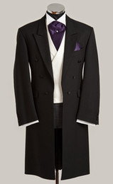 Wholesale tailcoat suits - Custom-made 2014 New Groom Tuxedos Best man Suit Groomsman Bridegroom Suits (Jacket+Pants+Tie+Vest) 021