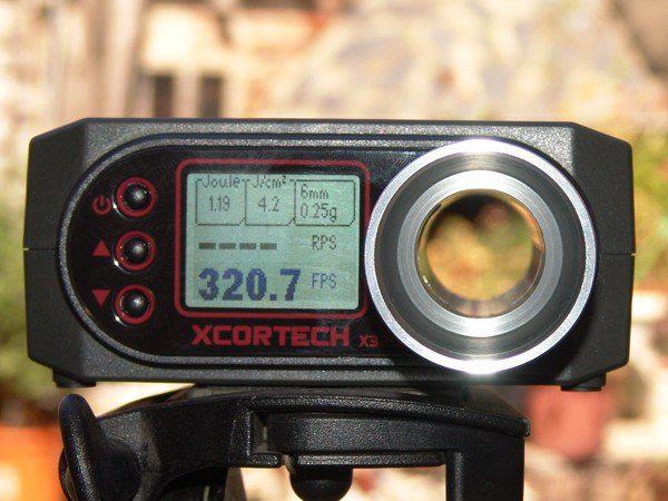 Drss X3200 High-Power Airsoft Xcortech Shooting Chronograph / Speed Tester