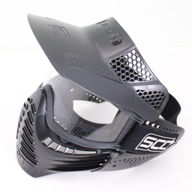 Drss Safty Airsoft Paintball Tactical Full Face Mask With Goggle First Style BlackBK