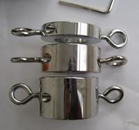 metallstretcher sexspielzeug großhandel-Große Größe Edelstahl Metall Hoden Skrotum Ball Bahre Ringe für männliche Sex Spielzeug Erwachsene Gewichte über 600 g