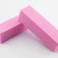 Wholesale Sponge Buffer Sanding Block - Brand Pink and White Sponge Sandpaper 4 Way Buffer Block Files Sanding File Nail Art Tools B007