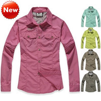 Wholesale hiking apparel for sale - Group buy Outdoor Apparel Speed dry clothing suit female models outdoor speed drying removable quick drying shirt Quick drying pants Hiking clothing