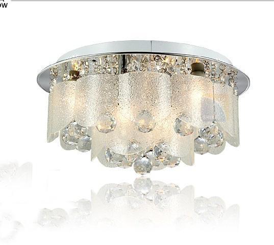 Moderna y lujosa luz de techo LED de cristal araña sala de estar, comedor, dormitorio, restaurante