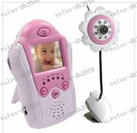 Wholesale LLFA2178 GHz Baby Monitors quot Color LCD Baby Monitor Night Video Camera monitors security colour EW