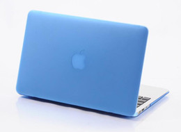 Wholesale Crystal Case For Laptop - Matte Frosted Hard Plastic Protective Case for 11 12 13 15 inch Macbook Air Pro Retina Laptop Crystal Rubberized Protector Cover Shell