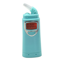 Wholesale patent China new Digital alcohol tester with red backlights Digital Alcohol Breath Tester Breathalyzer AT828