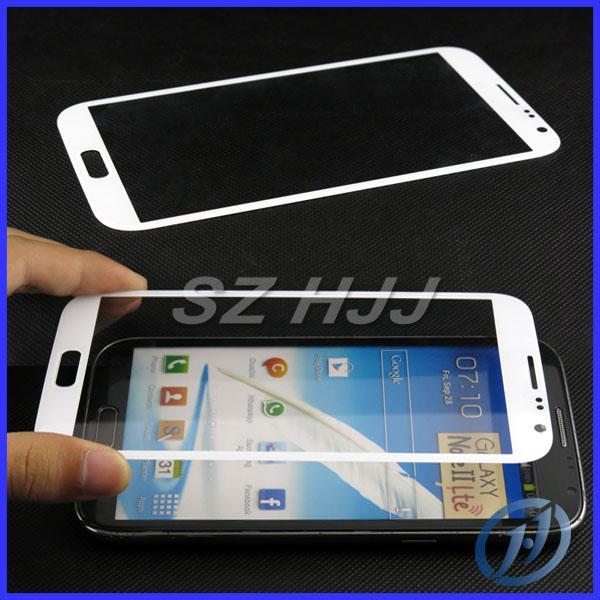 الشاشة الأمامية عدسة زجاجية خارجية لـ Samsung Galaxy Note I II 2 Note 3 و mini note 4 5 Touch Screen LCD Cover