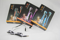 Wholesale Soul Headphones Control Talk - Promotion 4 colors soul mini SL700 in-ear headphone with control talk By Ludacris mini SL700 earphone with retail box Factory offer directly