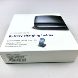 Wholesale Battery Charger Station S4 - 2 IN 1 Desktop Dock Home Charge dock station battery charging holder for Samsung GALAXY S4 I9500