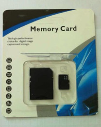 Wholesale Memory Cards 128gb - UHS-1 C10 128GB 64GB 32GB Class 10 Memory SD Card TF Memory Card with Free Retail Blister Package 0074