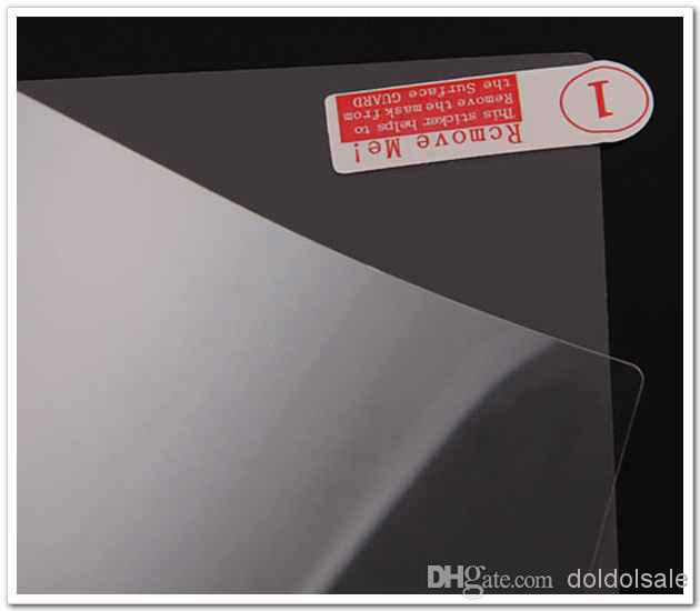 Clear Screen Protector Guard Film 10 inch NOT Full-Screen Size 222.5x125.5mm No Retail Packaging for GPS Tablet PC Phone