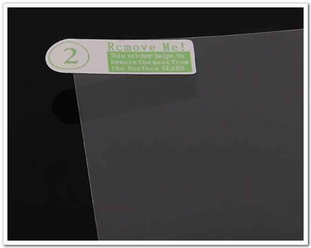 universel 7 pouces tablette écran protecteur écran lcd écran pour tablet pc MID GPS MP4 taille 155x92mm film de protection