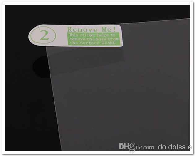 Promocional! 3000 unids claro protector de pantalla de 10 pulgadas universal para GPS Tablet PC teléfono móvil sin paquete al por menor de película protectora 222.5x125.5 mm