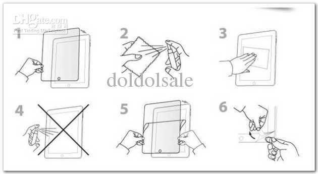 50 stücke Universal 7 zoll LCD Screen Protector Schutzfolie NICHT Vollbild Größe 155x92mm Keine Kleinverpackung für GPS Tablet PC Kamera Großhandel