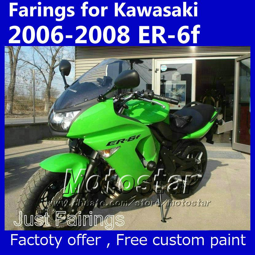 7 Gifts Fairing Set For Kawasaki Ninja 650r 2006 2007 2008 Er 6f Oem