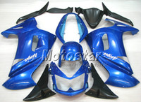 OEM blu set carenatura per il 2006 2007 2008 Kawasaki Ninja 650R ER-6f carenature kit con 7 regali er6f ER 6F 650R PE3