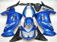 Wholesale OEM blue fairing set for Kawasaki Ninja r ER f fairings kits with gifts er6f ER F R pe3