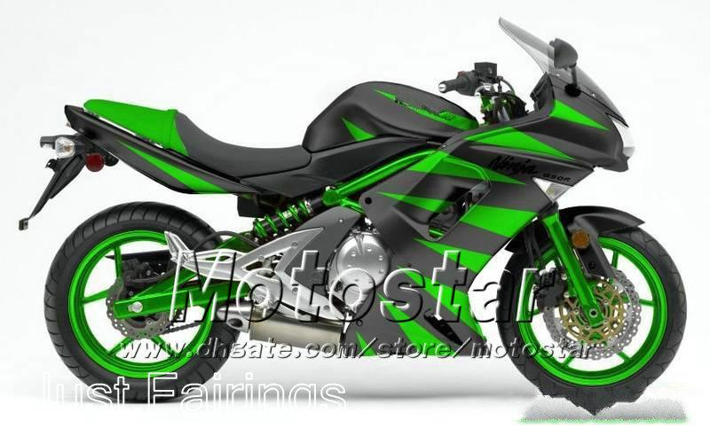 Same as you seeing! custom for Kawasaki Ninja 650r ER-6f 2006 2007 2008 fairings kit , full set body kits 06 07 08 er6f ER 6F 650R
