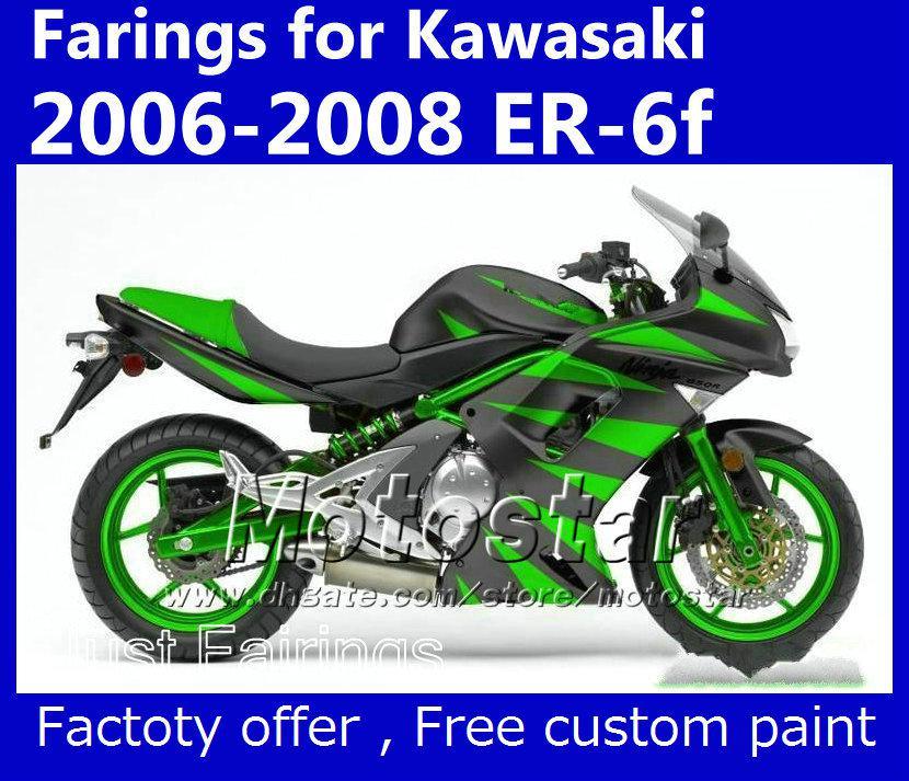 Compre Pintura Personalizada Para Kawasaki Ninja 650r Er 6f 2006