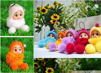 Wholesale Novelty Holder - free shipping Novelty BJD Wedding gift cell phone accessories Lacoon bag holder fashion small plush toy baby doll China Dolls