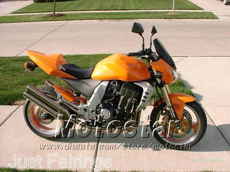 Fairings set + seat cover for Kawasaki z1000 2003-2006 Z1000 2004 2005 OEM orange fairiing kit SL93