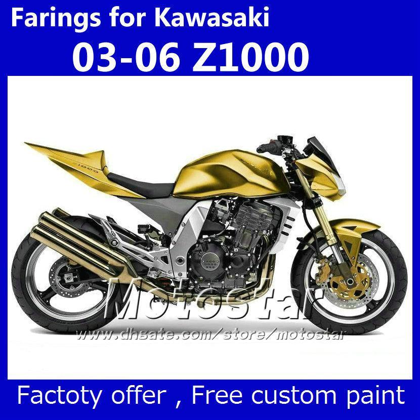 fairing kit + seat cover for kawasaki z1000 2003 2004 2005 2006