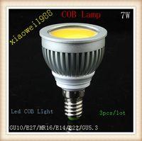 Wholesale mr16 7w led bulbs resale online - GU10 E27 MR16 E14 B22 E26 W White Warm White COB LED Light Bulbs lumens led Spotlight