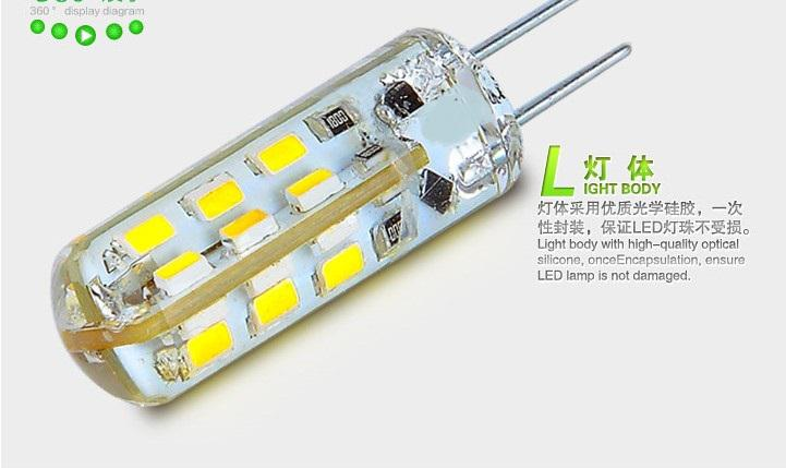 X50 High Power Smd3014 3w 12v G4 Led Lamp Replace 30w