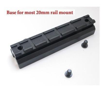 20mm Weaver Rail Scope Mount Base for Elevation