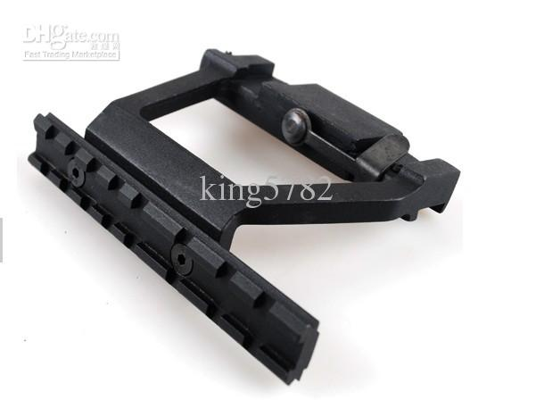 Quick release 20mm AK Side Rail Lock Scope Mount Base for AK 74U free shipping