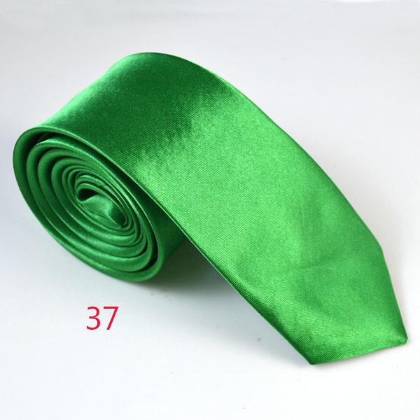 5 CM Mens Skinny Ties Necktie 2 Inch Solid Color Slim Wedding Neck Ties Men's Fashion Accessories Can Choose Color