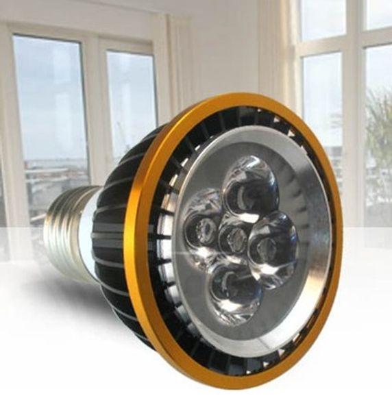 10pcs/lot Par20 Led Lamp E27 Dimmable 4X3W 12W Spotlight Led Light Led Bulbs 85V-265V Energy Saving