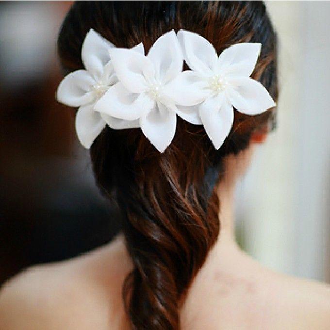 Fresh Lily Bridal Head Flower Hair Accessories Scunci Hair